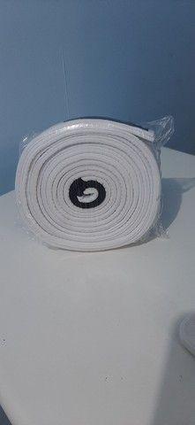 Faixa branca de Jiu jitsu, tamanho A2 - Foto 2
