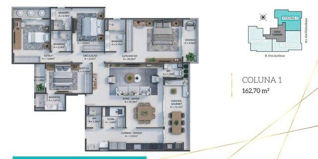 LP06 | Residencial D Algarve - 162m² e 4 Suítes na Ponta D?Areia - Foto 17