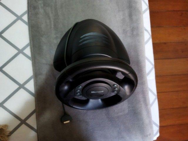 Volante jogos Microsoft SideWinder Force Feedback Wheel - R$350,00/unidade - 3 unidades - Foto 3