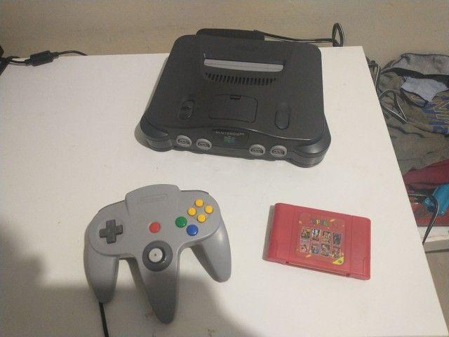 Nintendo 64 com everdrive e expansor pac - Foto 2