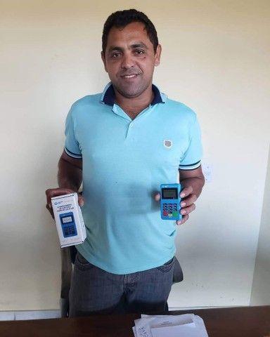 Máquina Point Mini Chip Mercado_ Pago Não precisa de celular - Foto 5