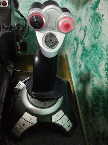 Manche Joystick simulador Voo usb - Foto 2