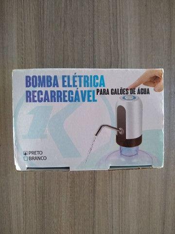 Bomba elétrica para galões de água (Entrega)