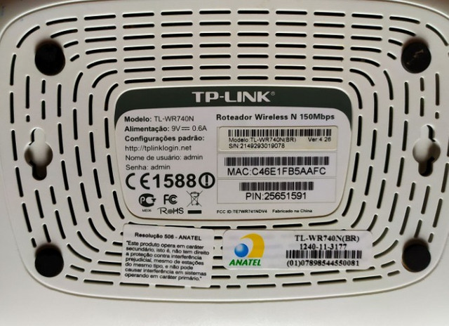 Roteador Wireless TP-Link - Foto 3