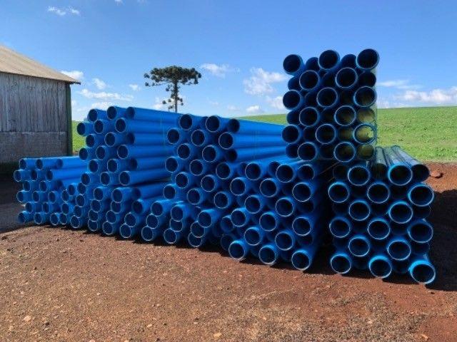 Canos PVC Amanco para Irrigação 200 mm - Foto 4
