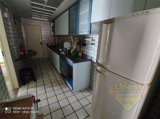 Manaíra, Mobiliado, 4 quartos, 120m², R$ 3.200, Aluguel, Apartamento, João Pessoa - Foto 14