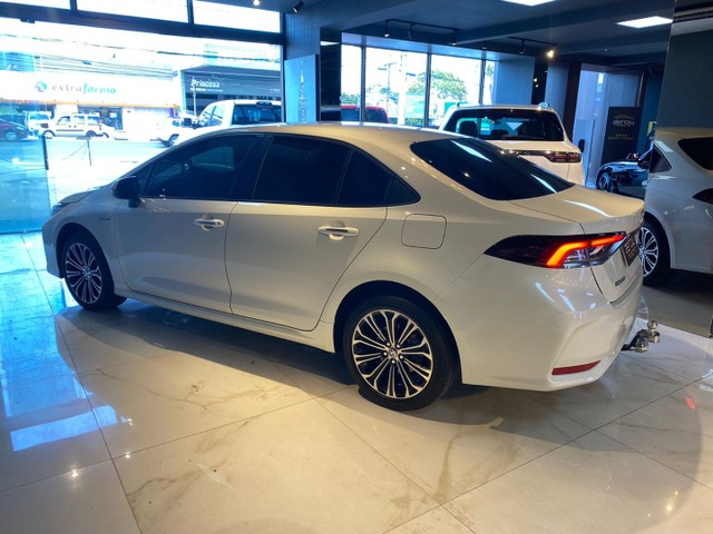 Toyota Corolla Altis 1.8 Hybrid 2020,Configuração Linda,Impecável  - Foto 17