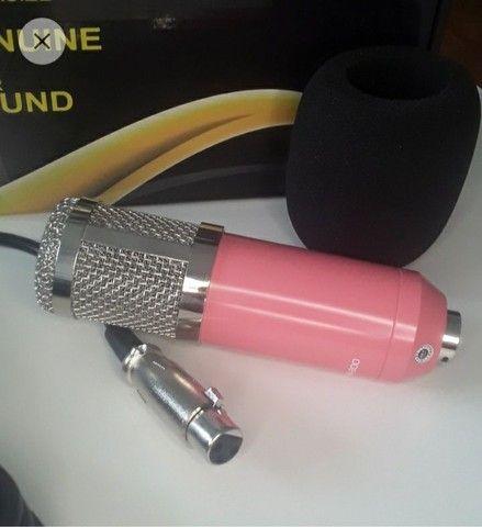 Microfone Condensador Profissional - Foto 3