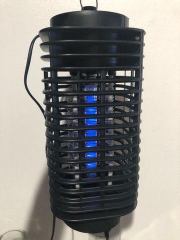 Luminária Repelente mata mosquito e insetos - Foto 2