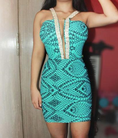Vestido de Festa Planet Girls