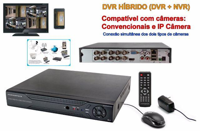 DVR Powerpack 8 canais mod. DNVR-5208.HD