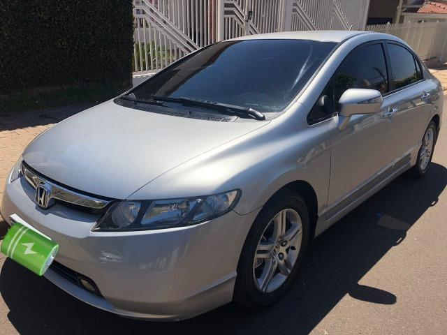 Awesome Honda Civic EXS 1.8 Automático 2007 85 Mil Km