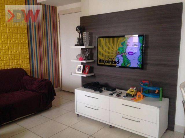 Apartamento em Nova Parnamirim, 3 quartos sendo 1 suíte