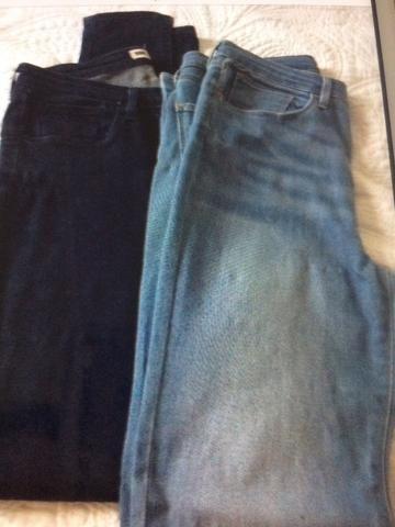 Barbada Calça jeans levis com elastano