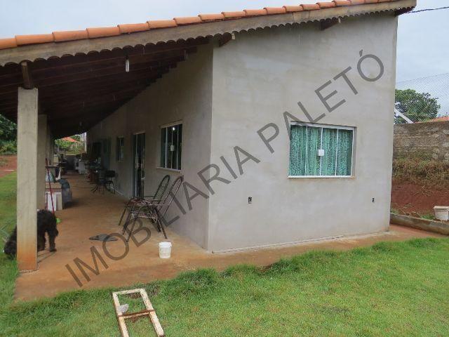 Amado REF 217 Chácara 2200 m², casa laje com 3 dormitórios, escritura  VK57