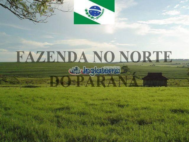 Fazenda à venda, 4982600 m² por R$ 18.000.000,00 - Centro - Santa Fé/PR