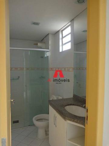Apartamento com 3 dormitórios para alugar, 82 m² por r$ 1.850,00/mês - 7º bec - rio branco - Foto 18
