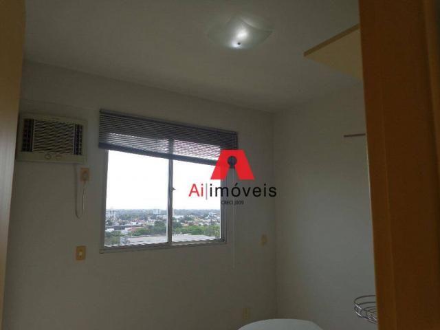 Apartamento com 3 dormitórios para alugar, 82 m² por r$ 1.850,00/mês - 7º bec - rio branco - Foto 10