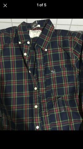 Camisa xadrez Abercrombie - Foto 2