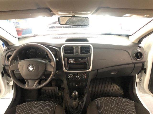 Renault Logan Authentique 1.0 Flex 2018 Completo - Foto 6
