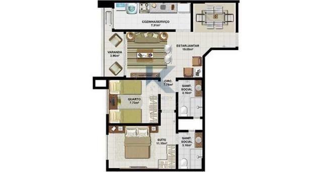O Senador Life. Um condomínio com apartamentos de 2 e 3 quartos com suíte. - Foto 11