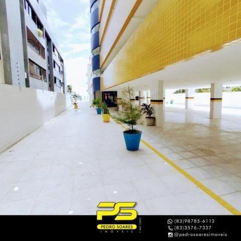 Apartamento com 3 dormitórios à venda, 90 m² por R$ 399.000,00 - Bessa - João Pessoa/PB - Foto 3