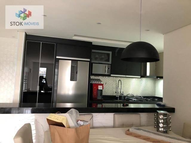 Apartamento com 3 dormitórios à venda, 83 m² por R$ 605.000 - Jardim Flor da Montanha - Gu - Foto 5