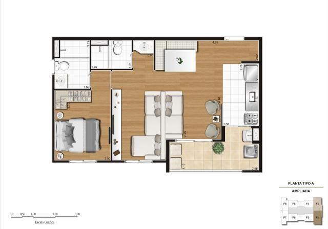 Apartamento em Vila Galvão, com 2 quartos, sendo 1 suíte e área útil de 55 m² - Foto 13