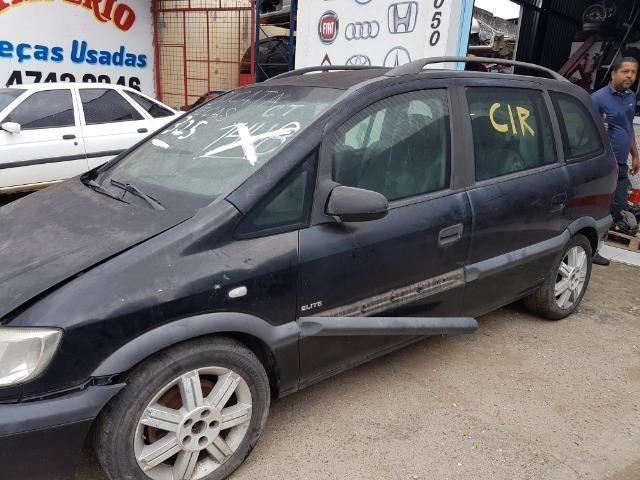 Gm Zafira 2005 2.0 8v automática peças
