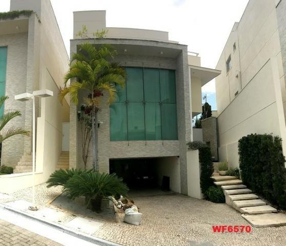 Condomínio Stellarium, casa tríplex com 5 suítes, 8 vagas de garagem, Elevador - Foto 12
