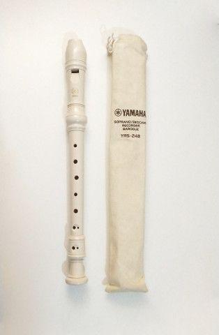 Flauta doce barroca Yamaha