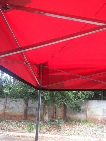 Tenda Sanfonada 3x3 Nylon/Emborrachada - Foto 3