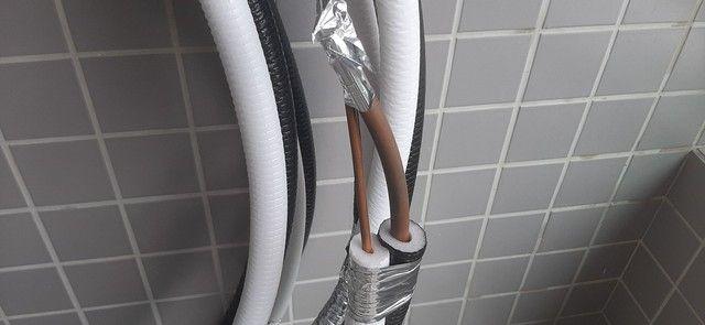 Tubulação de cobre para Ar Condicionado 12 mil a 18 mil BTUs