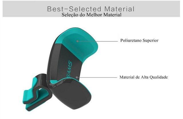Suporte Veicular para Celular Antiaderente Almofada de Silicone - Foto 5