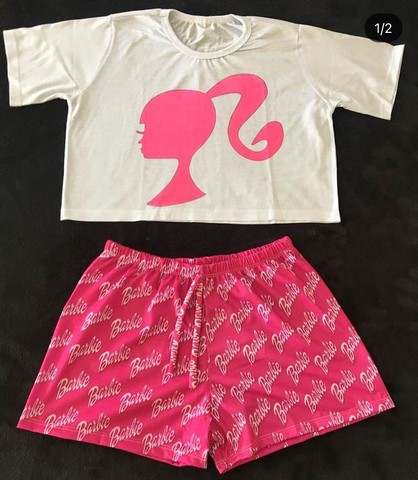 Conjunto/ Babydoll/ Pijama da Barbie  - Foto 3