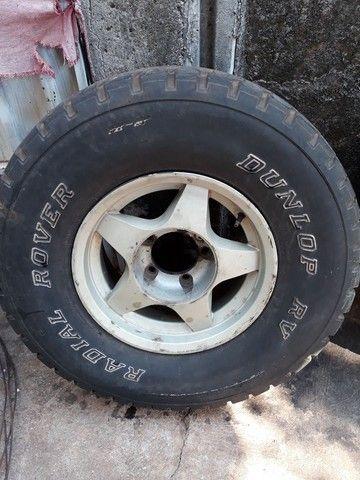 3 rodas aro 15 filé  - Foto 3