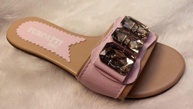 kits 12 pares de rasteirinhas sandalia atacado revenda e sacoleiras  - Foto 3