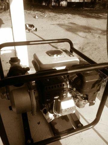 Motorbomba d'água a gasolina - Foto 3