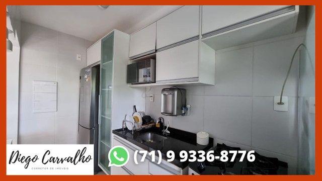 Bosque Patamares - Apartamento impecável 2 quartos, sendo uma suíte em 65m²  - (R2) - Foto 8