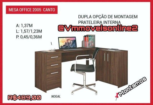 Mesa Office Canto Entrega
