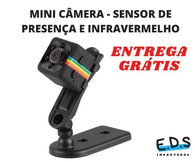 Mini Câmera SQ11 Espiã Visão Noturna Full HD - Foto 4