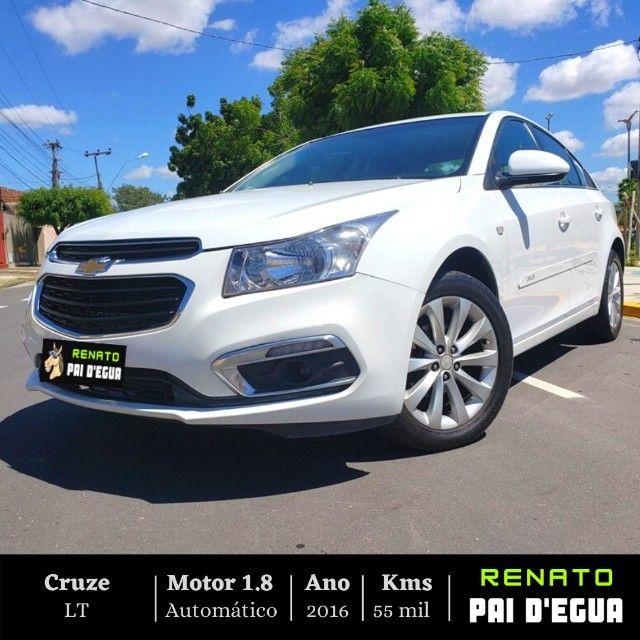 Oferta 5 mil abaixo da Fipe!!! - Cruze LT Automático 2016 - Renato Pai Degua