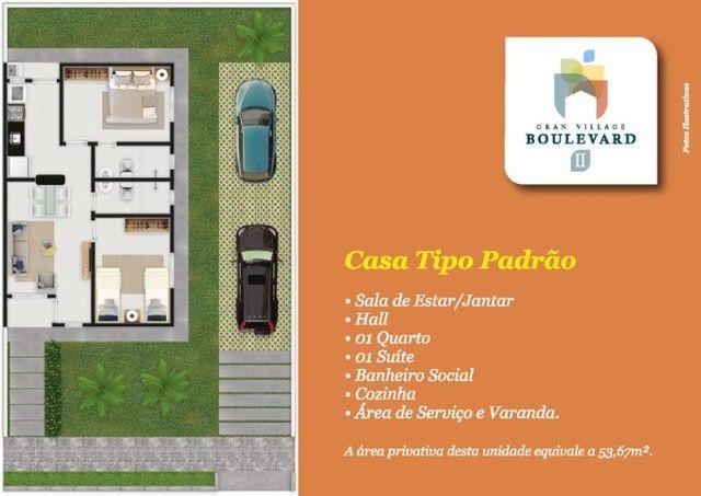 62# Casas com 54M² em condomínio com academia e... - Foto 4