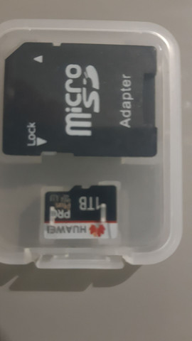 Cartão Huawe 1 tera com adaptador  - Foto 2
