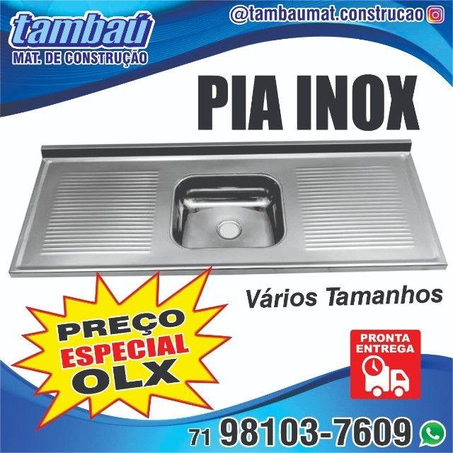 Pia Inox NOVA