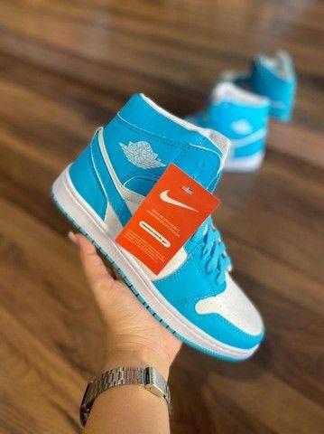 Atacado Tênis Botinha Nike Air Jordan Estilosa Confortável - Foto 2