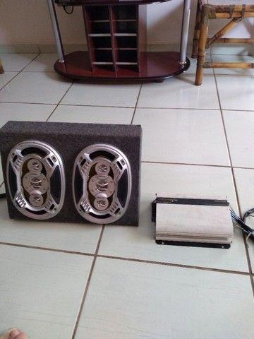 Módulo e caixa som - Foto 2
