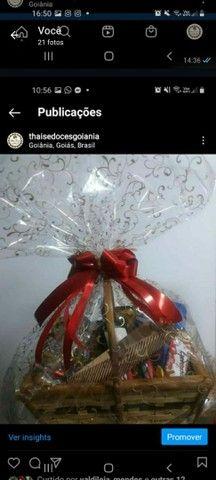 Cesta Chocolate + Caneca Porcelana - Foto 3