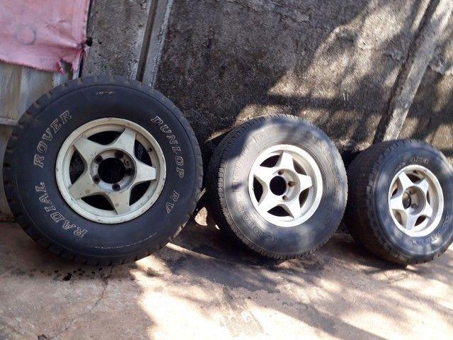 3 rodas aro 15 filé  - Foto 2