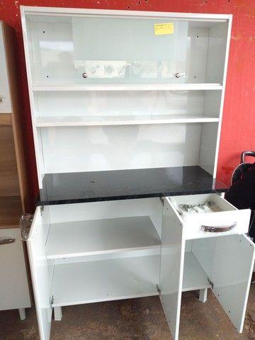 Armario de Cozinha em Aço Novo - Foto 2